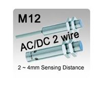 Picture for category M12 AC/DC 2 wire Inductive Proximity Sensors