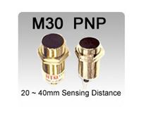 Picture for category M30 DC 3 wire PNP Shielded Inductive Proximity Sensors