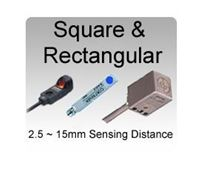 Picture for category Square & Rectangular Non-tubular Inductive Proximity Sensors
