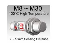 Picture for category 100°C High Temperature Stainless Steel PTFE Inductive Proximity Sensors