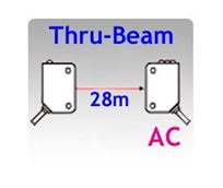 Picture for category 80x25mm Rectangular AC Thru-beam Photoelectric Sensors