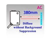 Picture for category 66x30.7mm Miniature AC Diffuse without Background Suppression Photoelectric Sensors