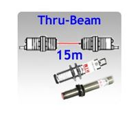 Picture for category M12, M18 Tubular Body Thru-beam Photoelectric Sensors