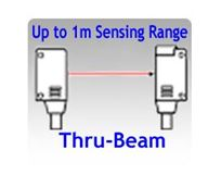 Picture for category 10x14.5x4.5mm Miniature NPN Thru-beam Photoelectric Sensors