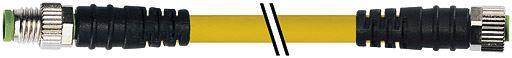 7000880010100500, M8 3 Pole Extension Standard PVC Pico Cables