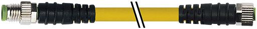 7000880110110100, M8 4 Pole Extension Standard PVC Pico Cables