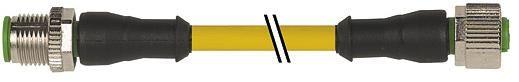 7000-40021-0140100, M12 4 Pole Extension Standard PVC Micro Cables