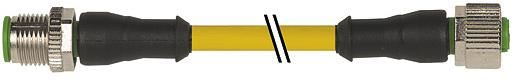 7000400410150500, M12 5 Pole Extension Standard PVC Micro Cables