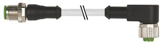 7000401412150100, M12 5 Pole Extension Standard PVC Micro Cables