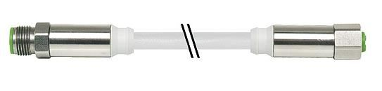 7044-40021-2140150, M12 4 Pole Open ended or Extension Food & Beverage Cables