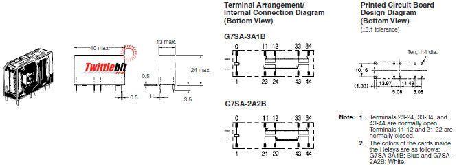Omron G7SA-3A1B DC24