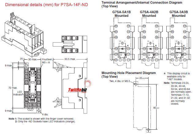 Omron P7SA14FND DC24
