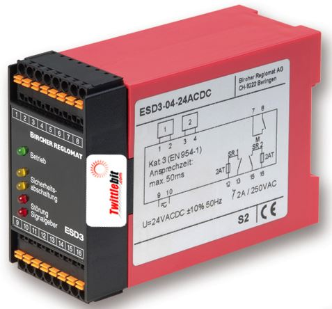 ESD30624ACDC, Safety Mat Controllers