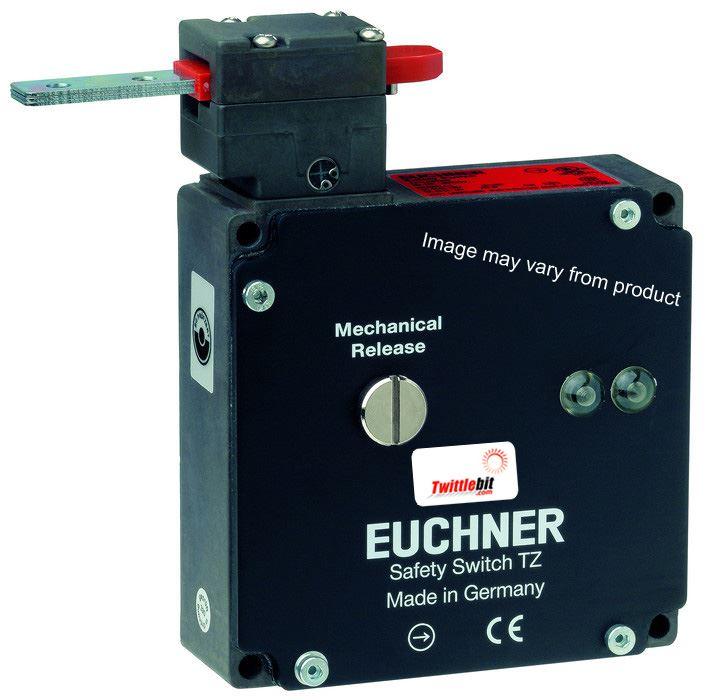 TZ1LE024MVAB, TZ1 Solenoid Interlock Gate Switch with Mechanical Guard Locking