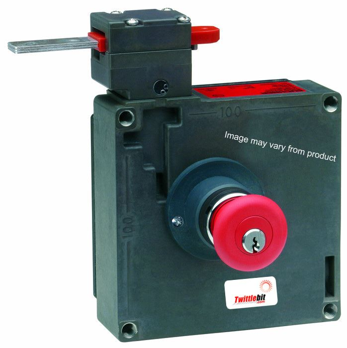 TZ2RE024MVAB-C1828, TZ2 Solenoid Interlock Gate Switch with Electrical Guard Locking