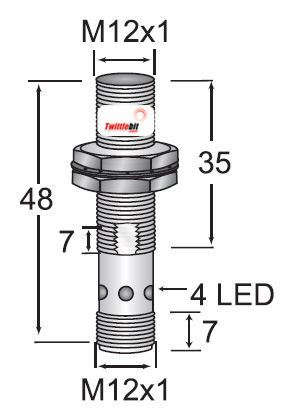 HTM Sensors OCN1-1204N-BRS4