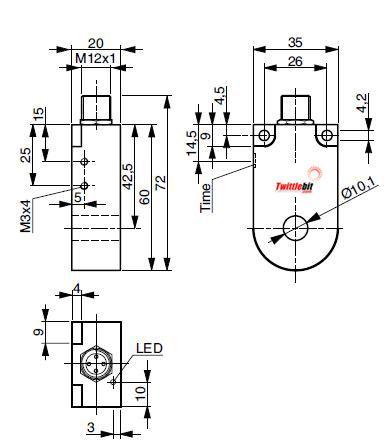 DAS-0010-003, 10mmø Ring type Inductive Proximity Sensors