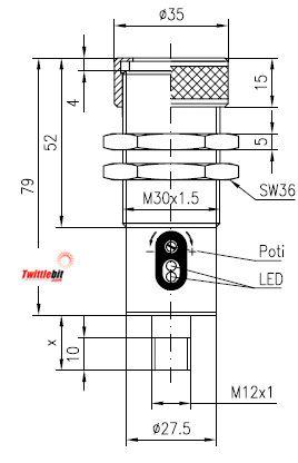 FMS3034UL4, Sensopart Fiber Optic Amplifer