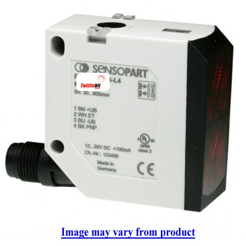 FT55RL2HPSK4, F55 Compact Diffuse with Background Suppression Laser Sensors
