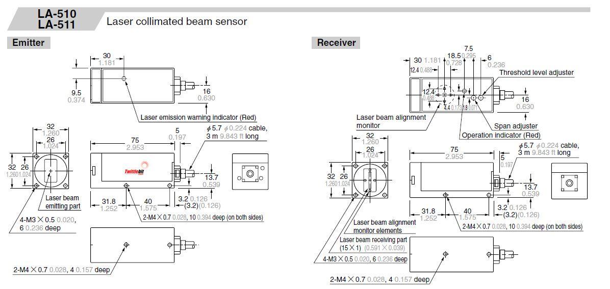 LA511, Self Contained Measurement Sensor
