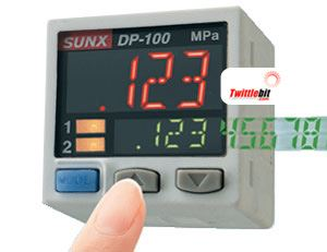 DP-101A-N-P, PNP output type Vacuum Sensors