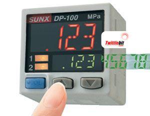 DP102NP, PNP output type Pressure Sensors