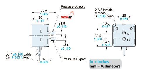 DP-M2, Dual Pressure Sensors