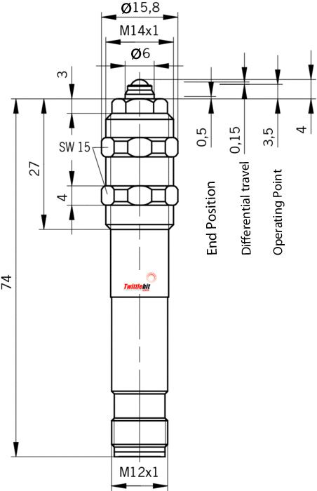 EGT1SEM4, M14 ~ M18 Tubular Position Switches