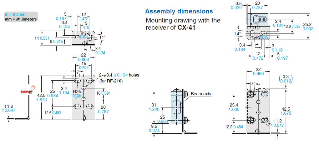 MSCX21, World Standard Brackets