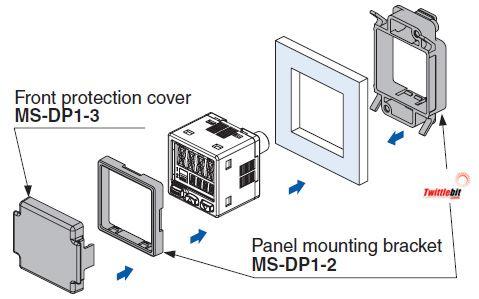 MS-DP1-2, MS-DP Brackets for Pressure Sensors