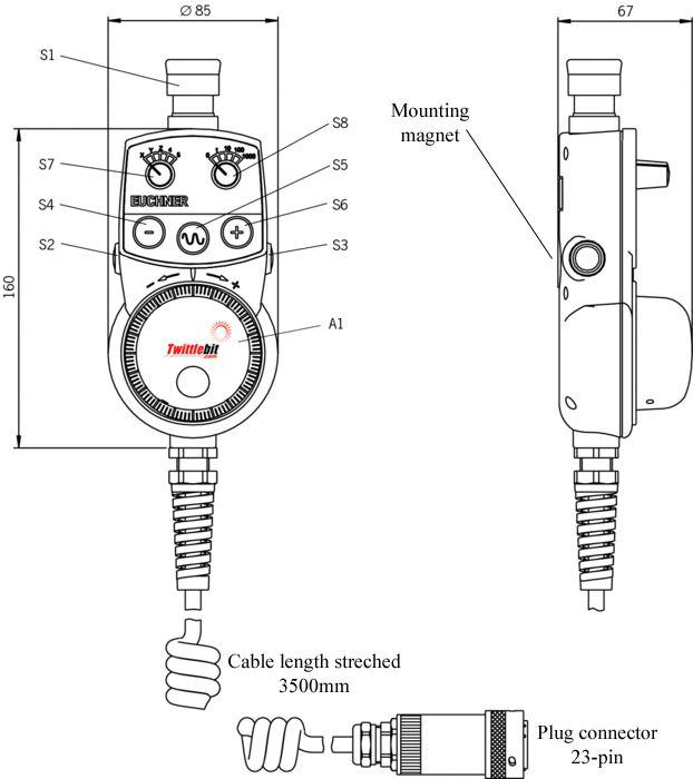 HBA079827, HBA Handheld pendant Stations