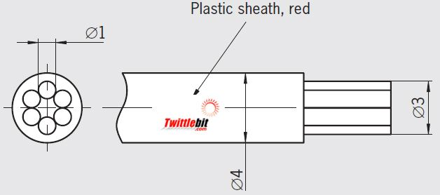 RPSI34 100m, Accessories for Rope Pull Switch