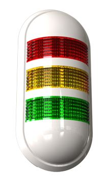 PWEZ102G, 24VAC/DC Wall Mounted LED Steady or Flashing Warning Lights