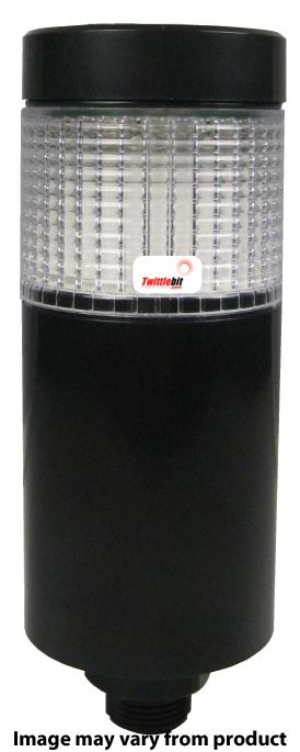 PTMSC102RBGB, 24VAC/DC Surface Mounted Tri Color LED Steady and Flashing Tower Lights