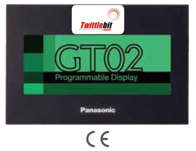 "AIG02GQ24D, 3.8"" GT02 HMI Operator Interface"