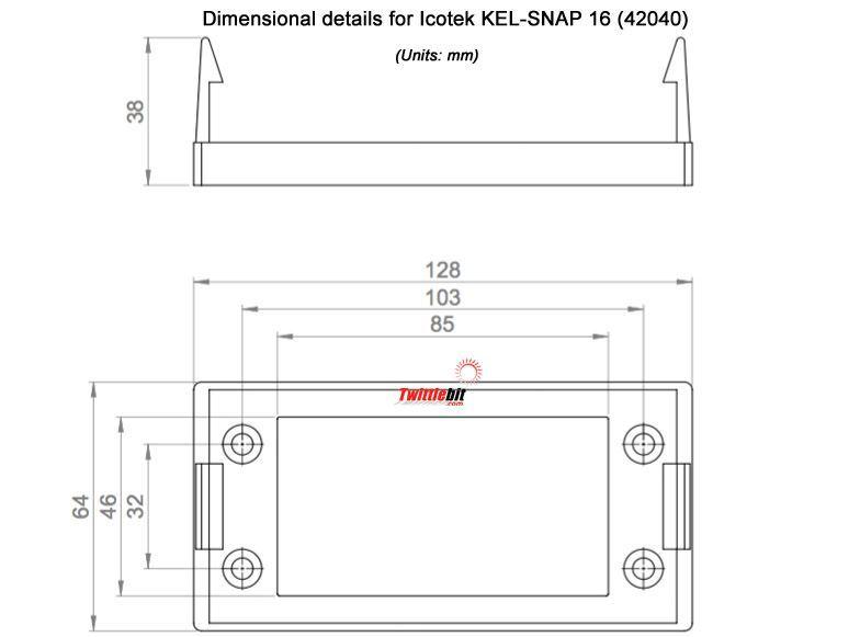Icotek KELSNAP 16 42040