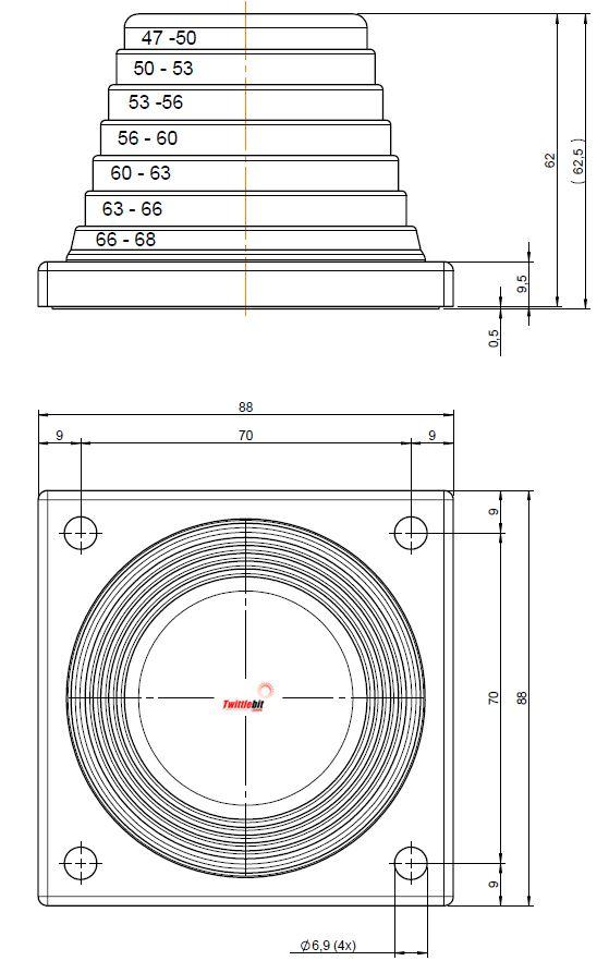 42616, KEL-JUMBO flex Cable Entry System