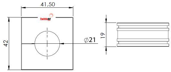 41221, Large Icotek Cable Entry Grommets (16mm ~ 34mm)