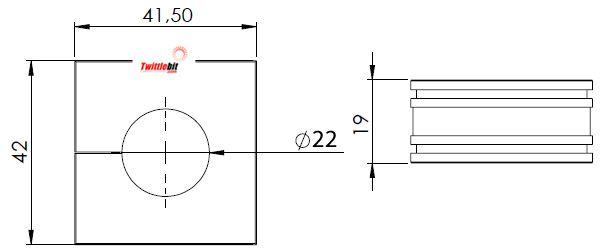 41222, Large Icotek Cable Entry Grommets (16mm ~ 34mm)