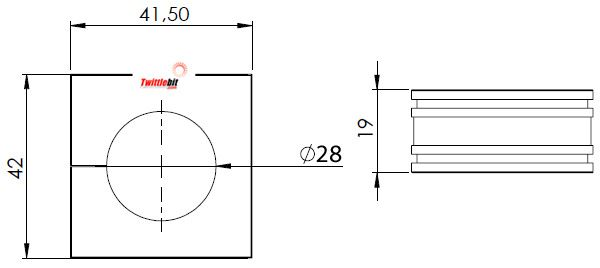 41228, Large Icotek Cable Entry Grommets (16mm ~ 34mm)