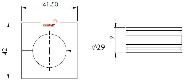 41229, Large Icotek Cable Entry Grommets (16mm ~ 34mm)