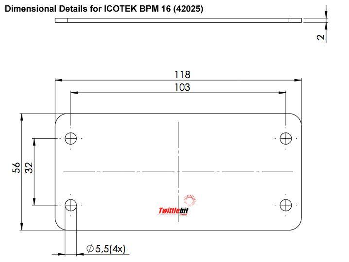 42025, Icotek Blind Plates