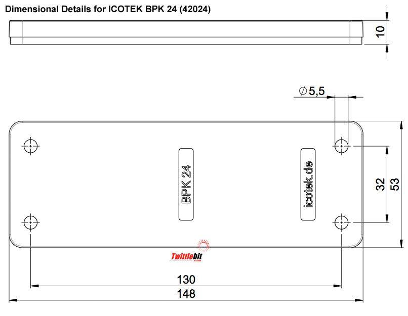 42024, Icotek Blind Plates
