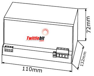 857710, Murr MPD series Input 70~160VDC/24VDC Output DC to DC converter