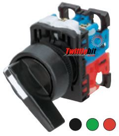 AR22WR211B, 22mm 2 Position Fuji Selector Switch