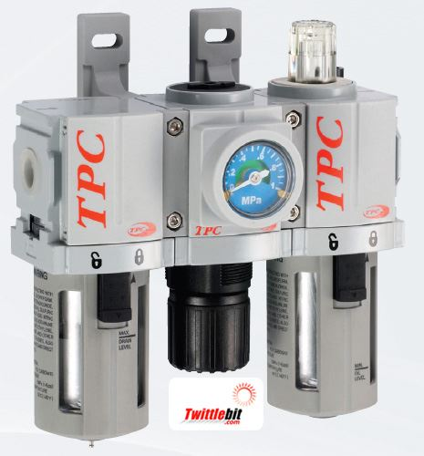 PC2N02D2G, PC2 Series FRL- Filter, Regulator, and Lubricator