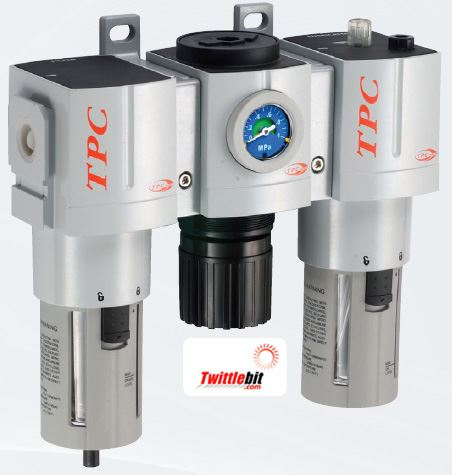 PC5N10DGL, PC5 Series FRL- Filter, Regulator, and Lubricator