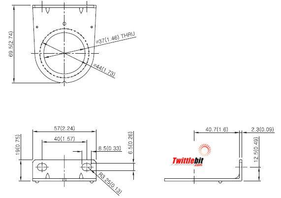 PR33300101, L-Bracket Units