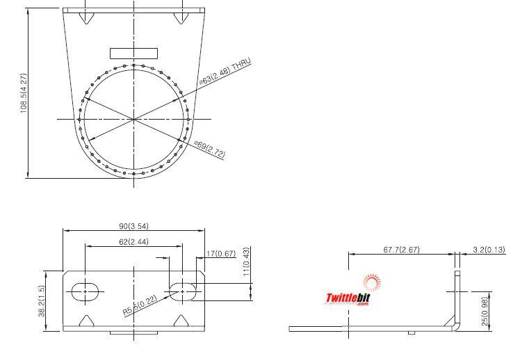 PR53300101, L-Bracket Units