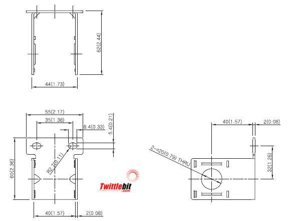 PF23300101, C-Bracket Units
